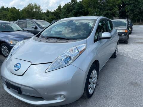 2014 Nissan LEAF for sale at Best Buy Auto Sales in Murphysboro IL