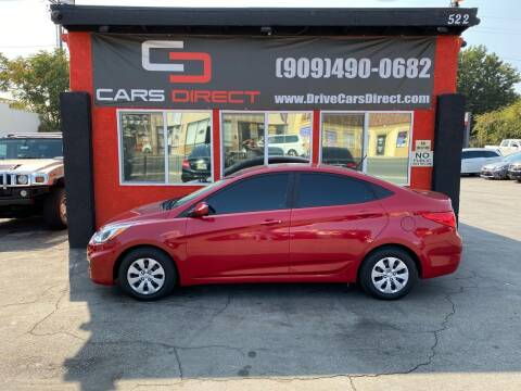 2017 Hyundai Accent for sale at Cars Direct in Ontario CA