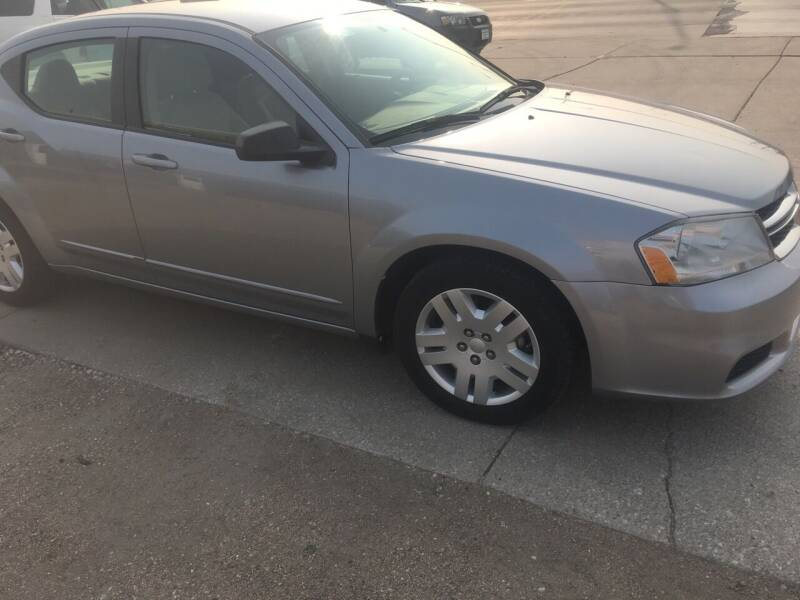 2013 Dodge Avenger for sale at Bramble's Auto Sales in Hastings NE