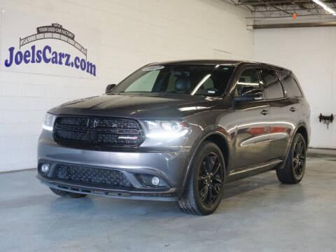 2017 Dodge Durango for sale at JOELSCARZ.COM in Flushing MI