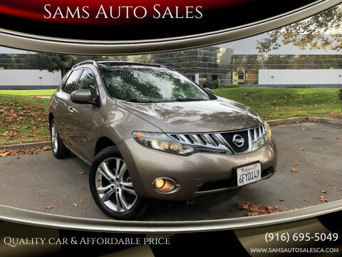 2009 Nissan Murano for sale at Sams Auto Sales in North Highlands CA