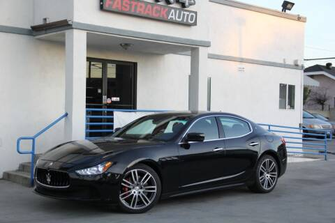 2016 Maserati Ghibli for sale at Fastrack Auto Inc in Rosemead CA