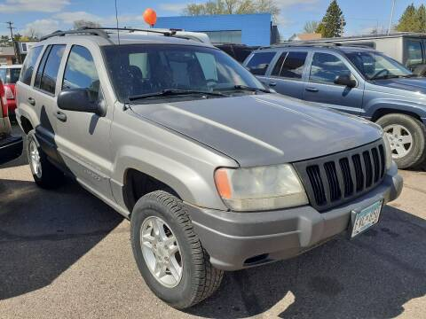 2001 Jeep Grand Cherokee for sale at Tower Motors in Brainerd MN