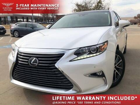 2017 Lexus ES 350 for sale at European Motors Inc in Plano TX