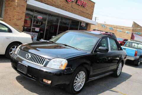 2005 Mercury Montego for sale at JT AUTO in Parma OH