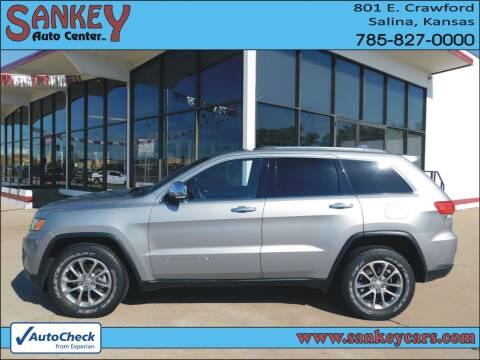 2015 Jeep Grand Cherokee for sale at Sankey Auto Center, Inc in Salina KS
