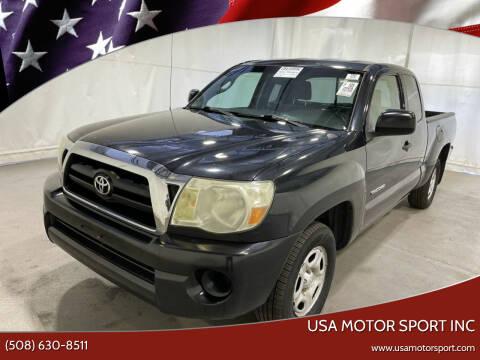 2008 Toyota Tacoma for sale at USA Motor Sport inc in Marlborough MA