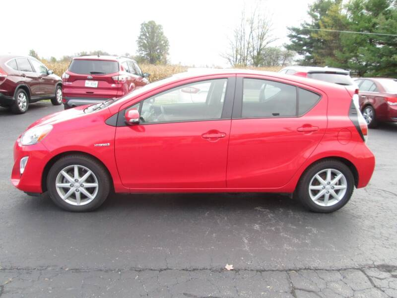 2015 Toyota Prius c for sale at Knauff & Sons Motor Sales in New Vienna OH