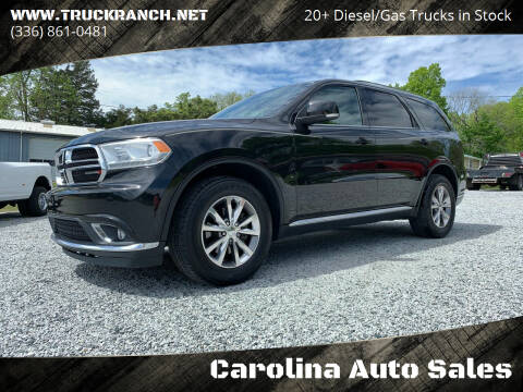 2015 Dodge Durango for sale at Carolina Auto Sales in Trinity NC