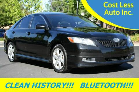2008 Toyota Camry for sale at Cost Less Auto Inc. in Rocklin CA