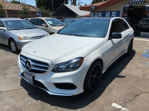 2014 Mercedes-Benz E-Class for sale at Orion Motors in Los Angeles CA
