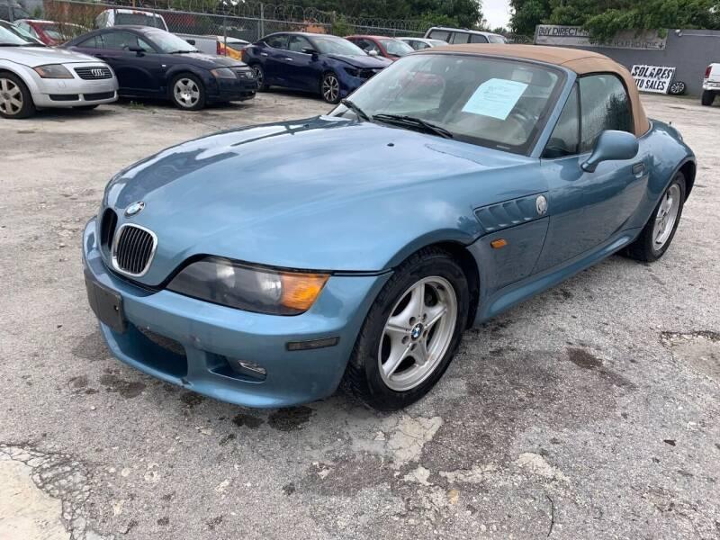 1999 BMW Z3 for sale at Solares Auto Sales in Miami FL