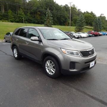2015 Kia Sorento for sale at TIM'S ALIGNMENT & AUTO SVC in Fond Du Lac WI