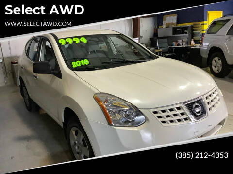 2010 Nissan Rogue for sale at Select AWD in Provo UT