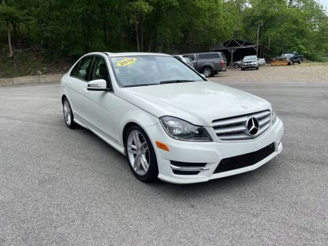 2012 Mercedes-Benz C-Class for sale at Worldwide Auto Group LLC in Monroeville PA