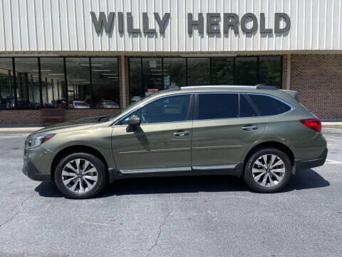 2018 Subaru Outback for sale at Willy Herold Automotive in Columbus GA