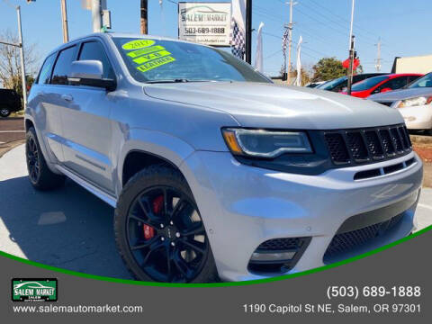 2017 Jeep Grand Cherokee for sale at Salem Auto Market in Salem OR