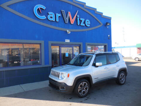 2016 Jeep Renegade for sale at Carwize in Detroit MI