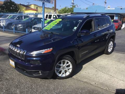 2015 Jeep Cherokee for sale at LA PLAYITA AUTO SALES INC in South Gate CA