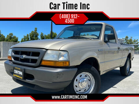 2000 Ford Ranger for sale at Car Time Inc in San Jose CA