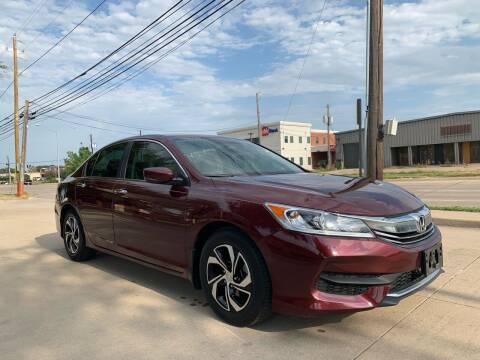 2016 Honda Accord for sale at Makka Auto Sales in Dallas TX