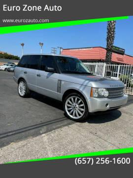 2006 Land Rover Range Rover for sale at Euro Zone Auto in Stanton CA