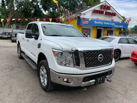 2016 Nissan Titan XD for sale at C & M Auto Sales in Detroit MI