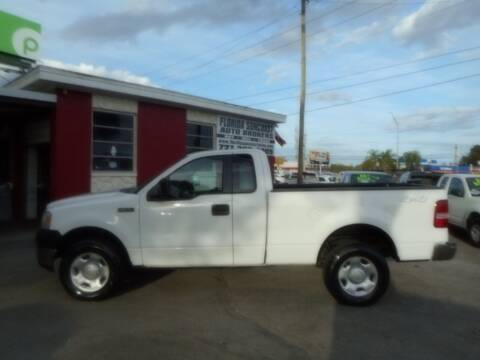 2005 Ford F-150 for sale at Florida Suncoast Auto Brokers in Palm Harbor FL