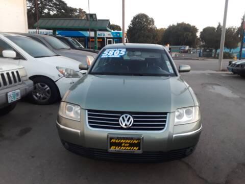 2002 Volkswagen Passat for sale at Goleta Motors in Goleta CA