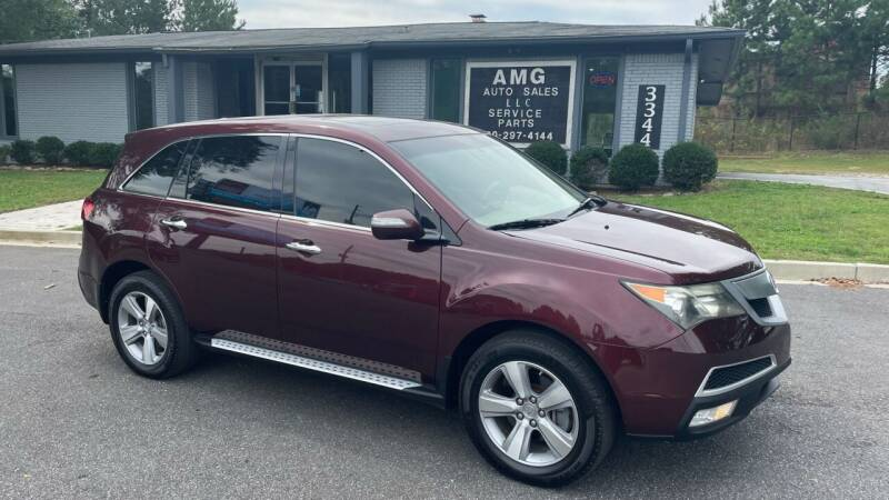 2012 Acura MDX for sale at AMG Automotive Group in Cumming GA