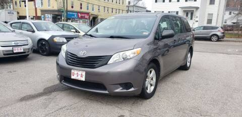 2011 Toyota Sienna for sale at Union Street Auto in Manchester NH