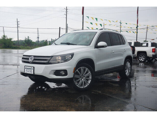 2014 Volkswagen Tiguan for sale at Maroney Auto Sales in Humble TX