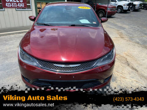 2015 Chrysler 200 for sale at Viking Auto Sales in Bristol TN