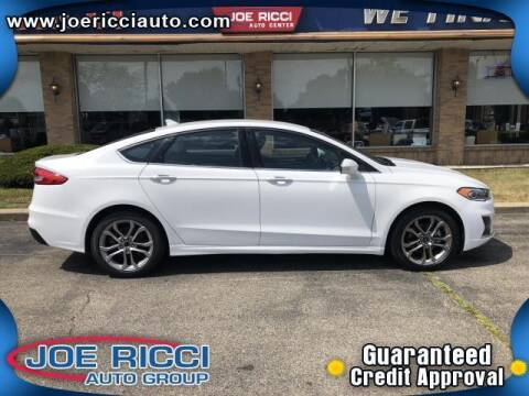 2020 Ford Fusion for sale at JOE RICCI AUTOMOTIVE in Clinton Township MI