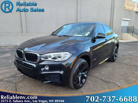 2016 BMW X6 for sale at Reliable Auto Sales in Las Vegas NV