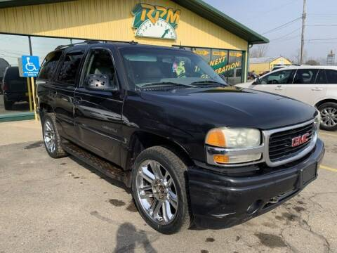 2003 GMC Yukon for sale at RPM AUTO SALES in Lansing MI