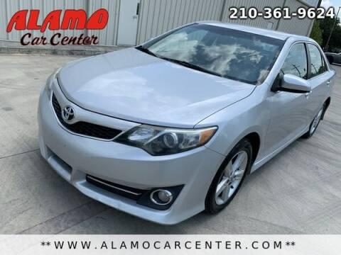 2014 Toyota Camry for sale at Alamo Car Center in San Antonio TX