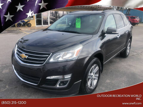 2015 Chevrolet Traverse for sale at Outdoor Recreation World Inc. in Panama City FL
