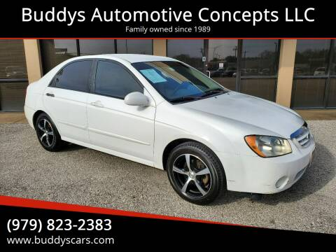 2005 Kia Spectra for sale at Buddys Automotive Concepts LLC in Bryan TX