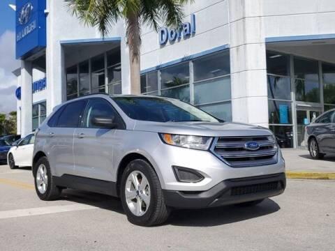 2018 Ford Edge for sale at DORAL HYUNDAI in Doral FL
