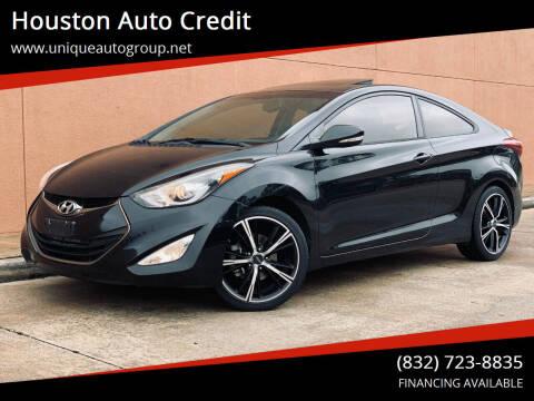 2014 Hyundai Elantra Coupe for sale at Houston Auto Credit in Houston TX