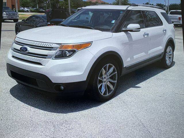 2014 Ford Explorer for sale at Global Pre-Owned in Fayetteville GA