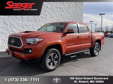 2018 Toyota Tacoma for sale at SEEGER TOYOTA OF ST ROBERT in St Robert MO