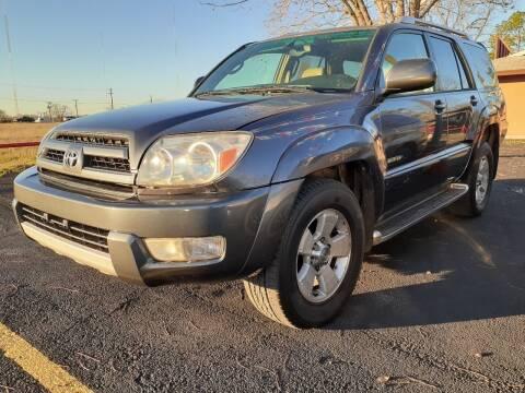 2003 Toyota 4Runner for sale at John 3:16 Motors in San Antonio TX