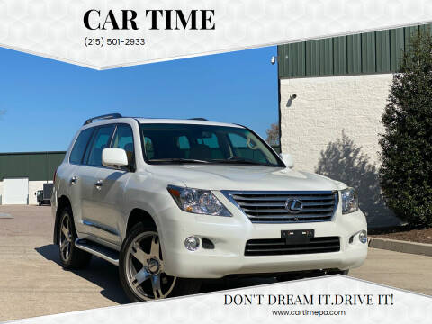 2008 Lexus LX 570 for sale at Car Time in Philadelphia PA