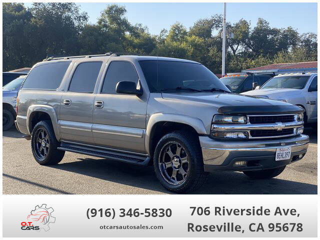 2001 Chevrolet Suburban for sale at OT CARS AUTO SALES in Roseville CA
