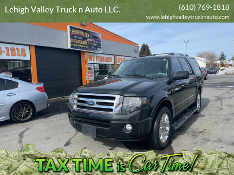 2012 Ford Expedition for sale at Lehigh Valley Truck n Auto LLC. in Schnecksville PA