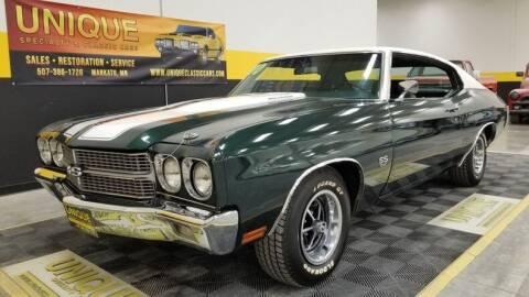 1970 Chevrolet Chevelle for sale at UNIQUE SPECIALTY & CLASSICS in Mankato MN