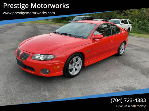 2004 Pontiac GTO for sale at Prestige Motorworks in Concord NC