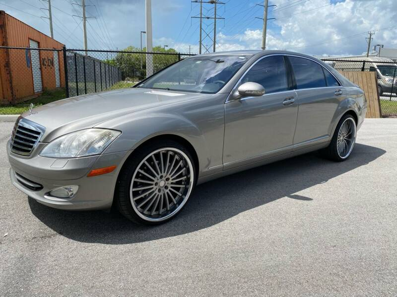2007 Mercedes-Benz S-Class for sale at Ultimate Dream Cars in Wellington FL